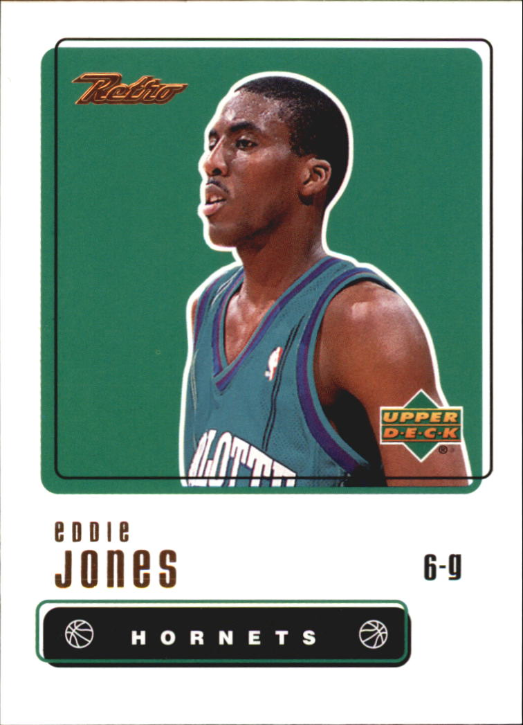 1999-00 Upper Deck Retro #30 Eddie Jones