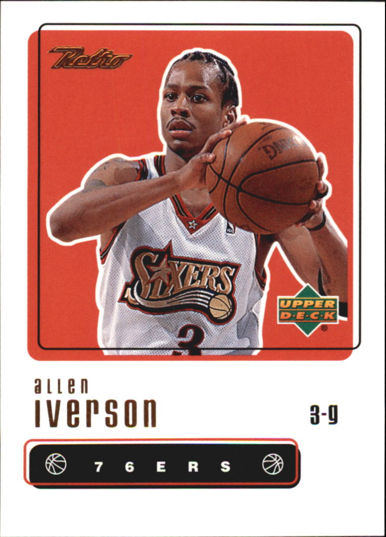 1999-00 Upper Deck Retro #37 Allen Iverson