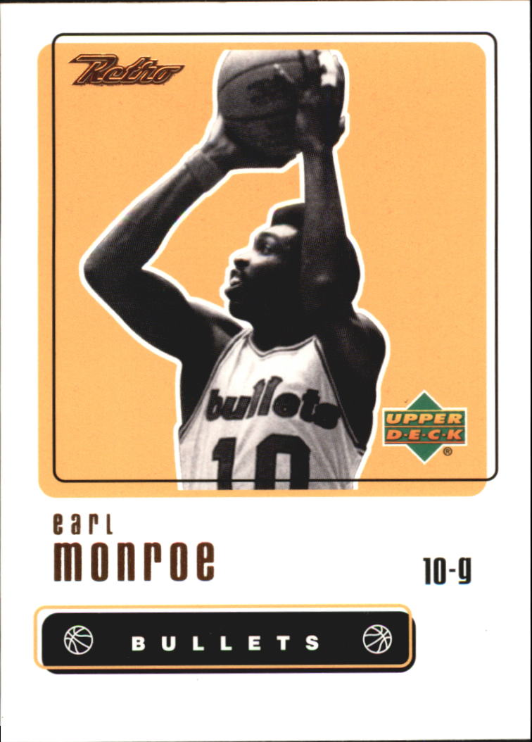 1999-00 Upper Deck Retro #48 Earl Monroe