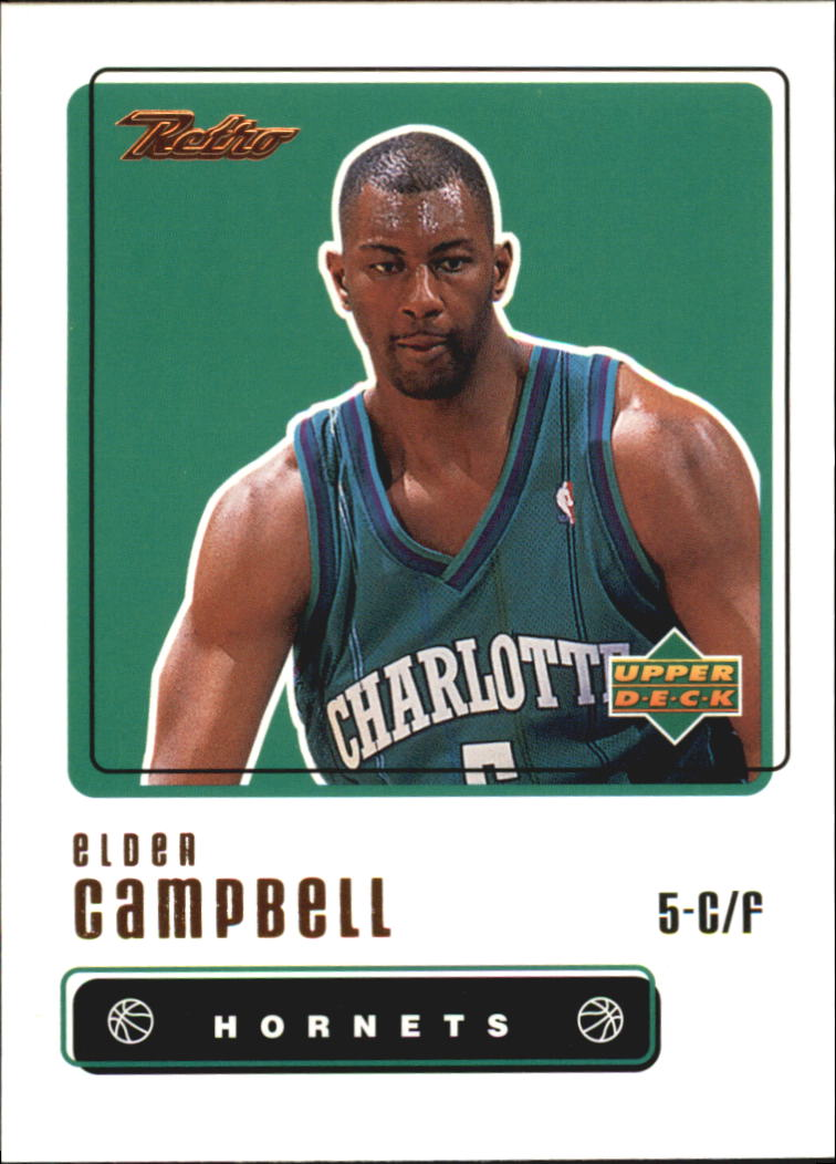 1999-00 Upper Deck Retro #58 Elden Campbell