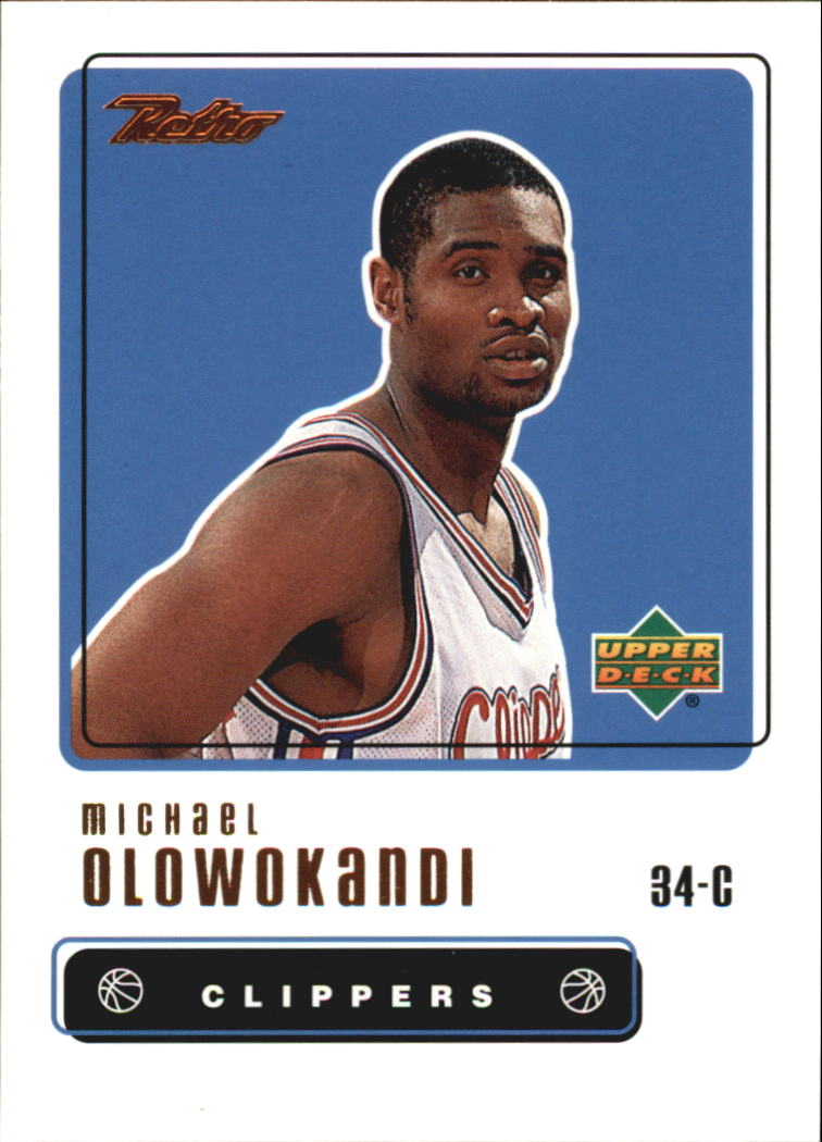 1999-00 Upper Deck Retro #63 Michael Olowokandi