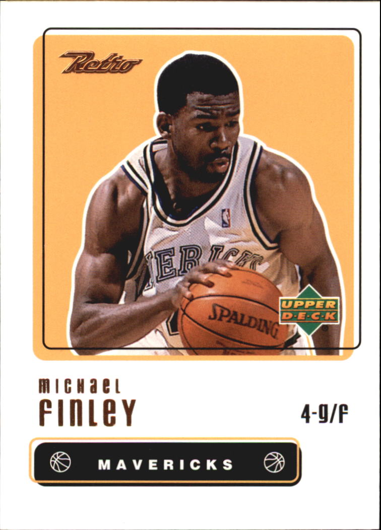1999-00 Upper Deck Retro #76 Michael Finley