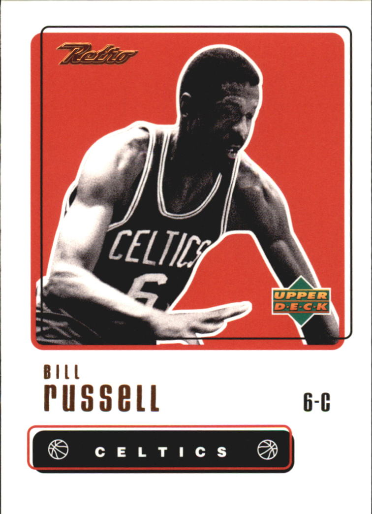 1999-00 Upper Deck Retro #85 Bill Russell front image