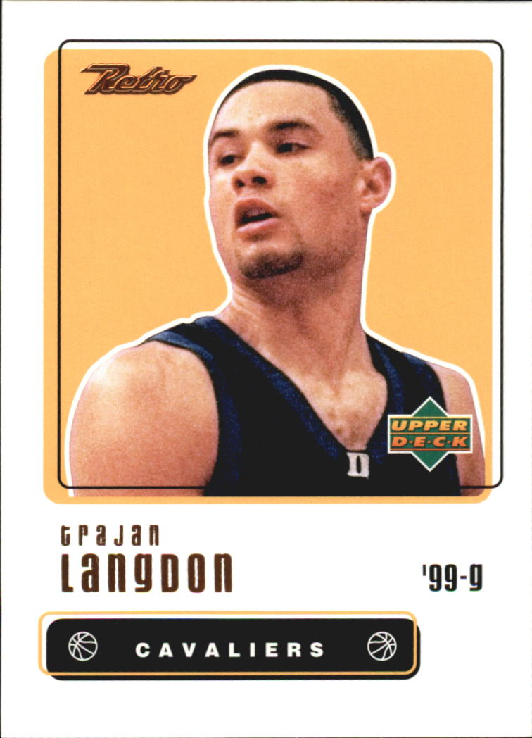 1999-00 Upper Deck Retro #96 Trajan Langdon RC