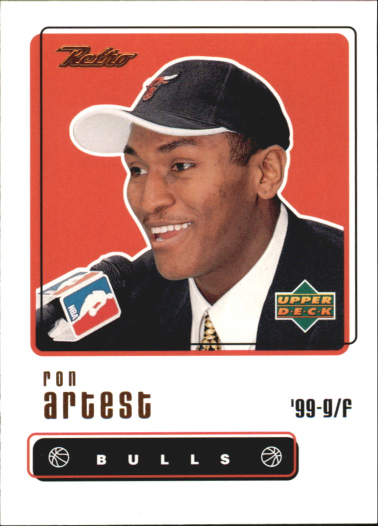 1999-00 Upper Deck Retro #97 Ron Artest RC