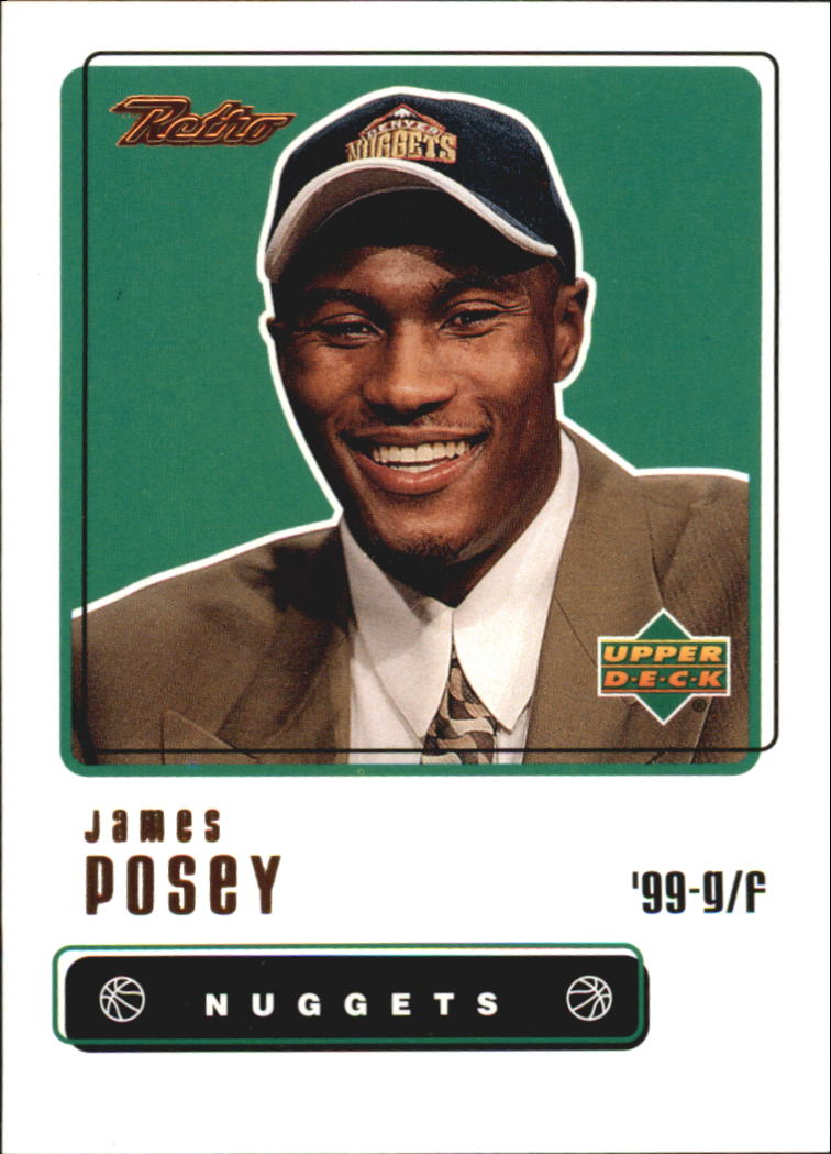 1999-00 Upper Deck Retro #98 James Posey RC