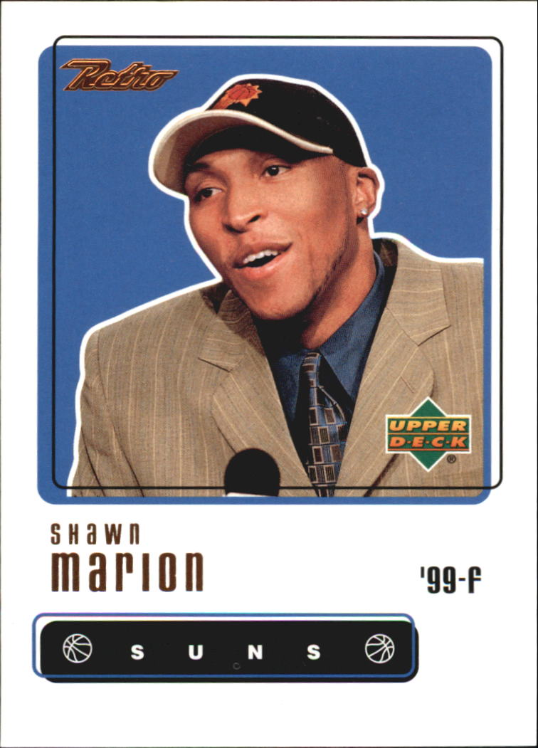 1999-00 Upper Deck Retro #99 Shawn Marion RC