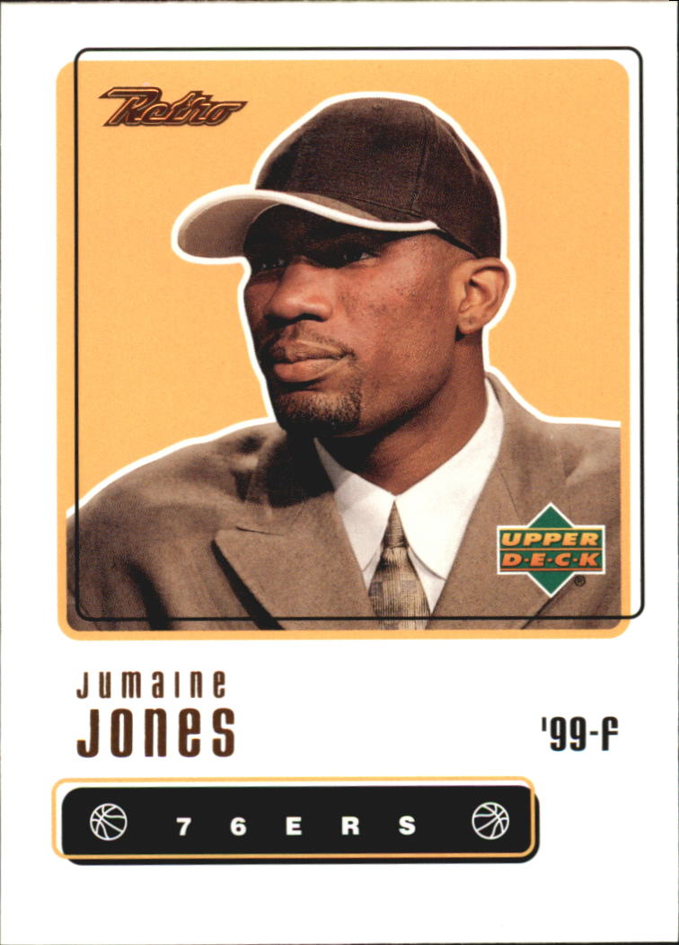 1999-00 Upper Deck Retro #100 Jumaine Jones RC