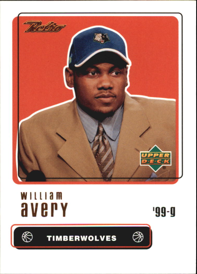 1999-00 Upper Deck Retro #101 William Avery RC