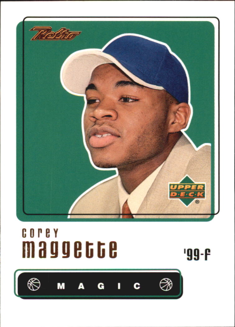 1999-00 Upper Deck Retro #102 Corey Maggette RC
