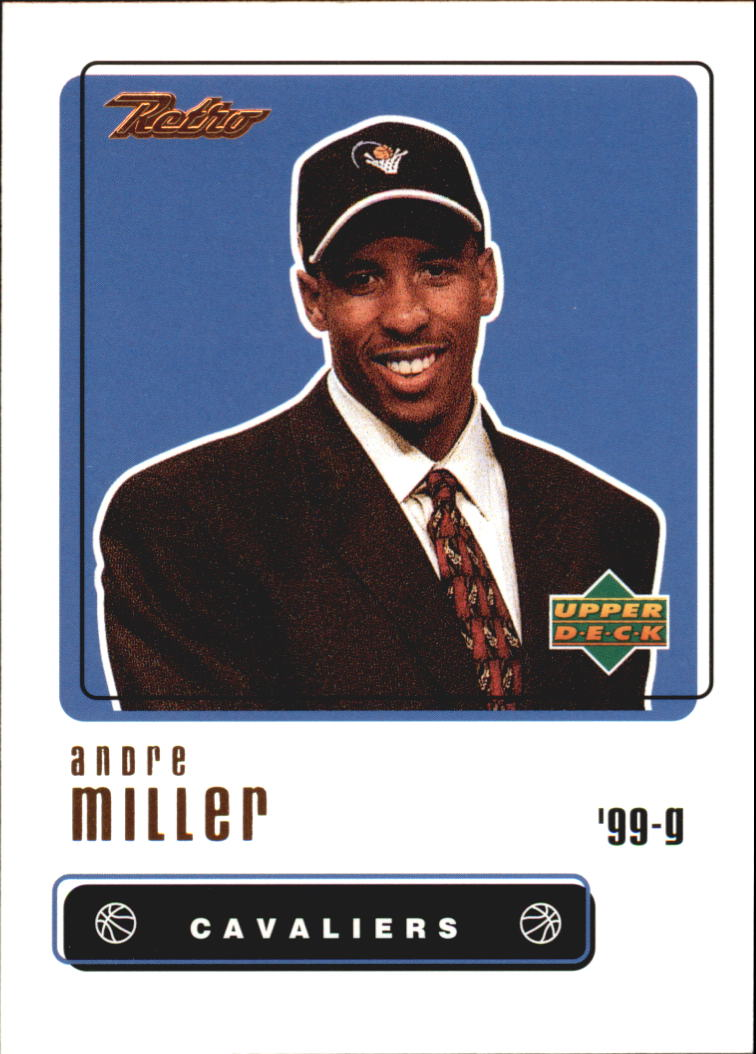 1999-00 Upper Deck Retro #103 Andre Miller RC