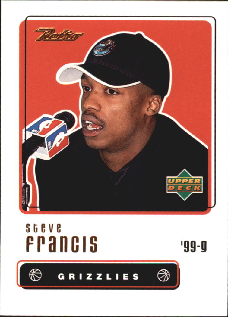 1999-00 Upper Deck Retro #109 Steve Francis RC