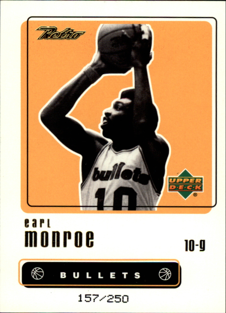1999-00 Upper Deck Retro Gold #48 Earl Monroe