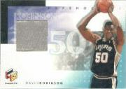 1999-00 Upper Deck HoloGrFX NBA Shoetime #DRS David Robinson