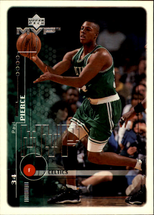 1999-00 Upper Deck MVP #10 Paul Pierce
