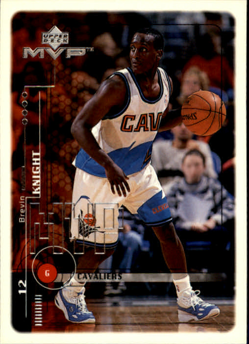 1999-00 Upper Deck MVP #27 Brevin Knight