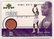 1999-00 Upper Deck MVP Game-Used Souvenirs #KMS Karl Malone