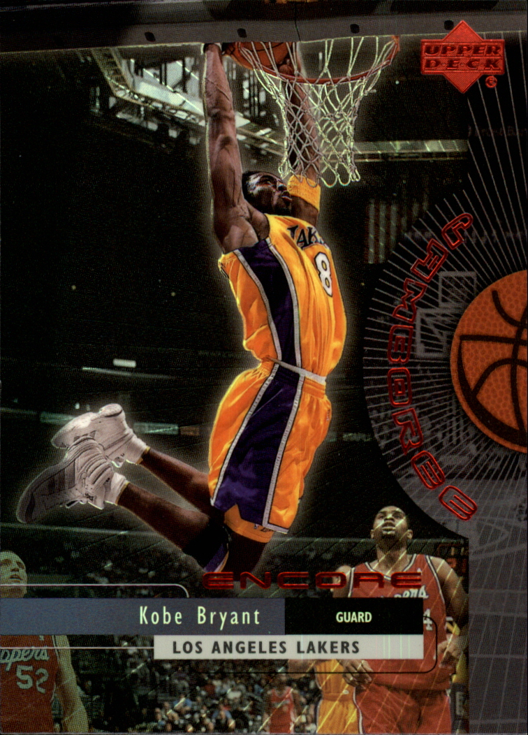 1999-00 Upper Deck Encore Jamboree #J8 Kobe Bryant