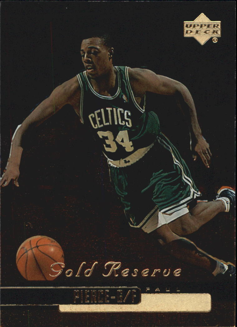 1999-00 Upper Deck Gold Reserve #11 Paul Pierce