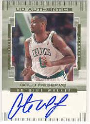 1999-00 Upper Deck Gold Reserve UD Authentics #AW Antoine Walker