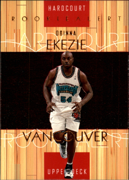 1999-00 Upper Deck Hardcourt #89 Obinna Ekezie RC