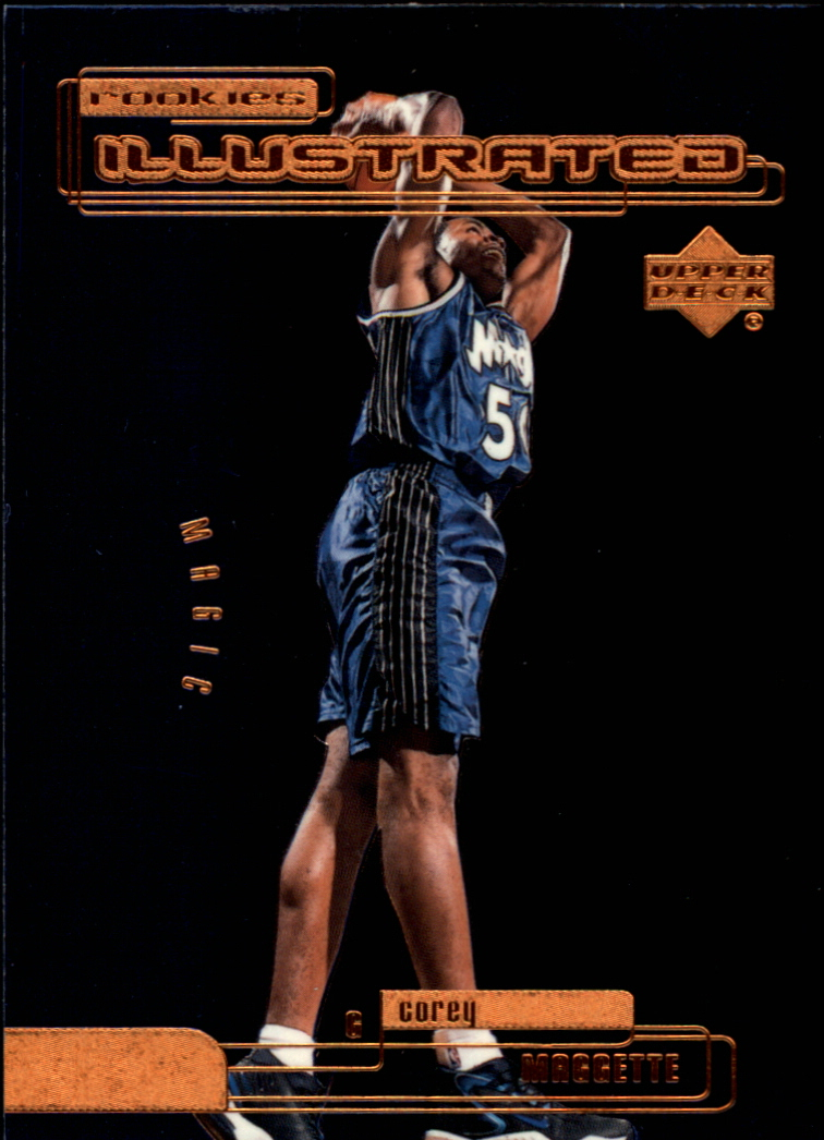 1999-00 Upper Deck Rookies Illustrated #RI8 Corey Maggette