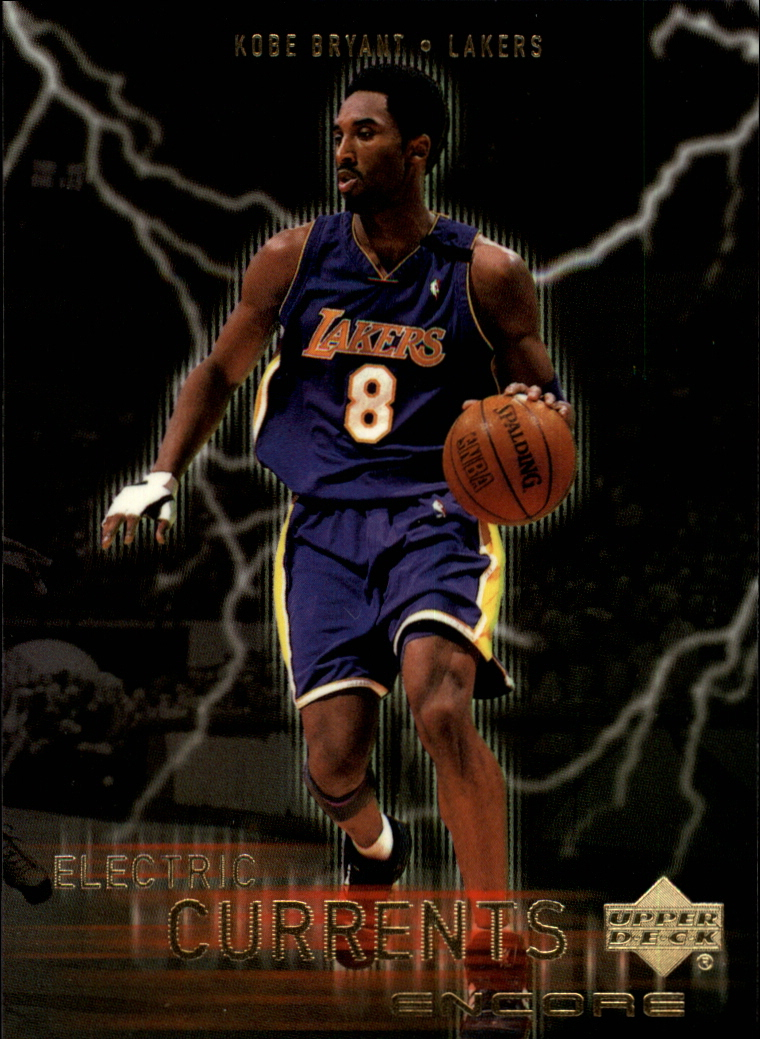 1999-00 Upper Deck Encore Electric Currents #EC8 Kobe Bryant