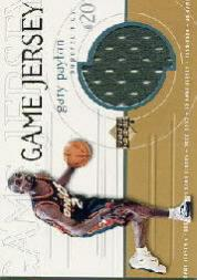 1999-00 Upper Deck Game Jerseys #GJ14 Gary Payton