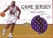 1999-00 Upper Deck Game Jerseys #GJ15 Vince Carter