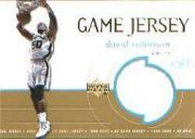1999-00 Upper Deck Game Jerseys #GJ18 David Robinson
