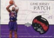 1999-00 Upper Deck Game Jerseys Patch #GJP15 Vince Carter