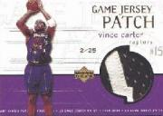 1999-00 Upper Deck Game Jerseys Patch Super #VC Vince Carter