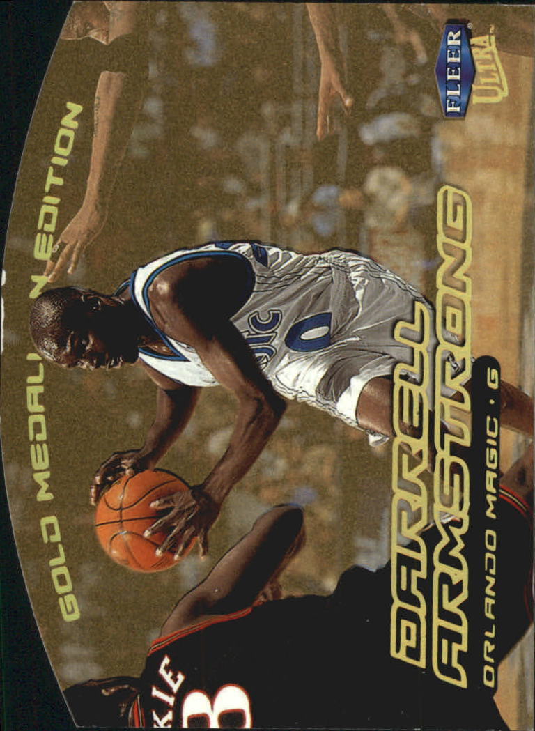 1999-00 Ultra Gold Medallion #5 Darrell Armstrong