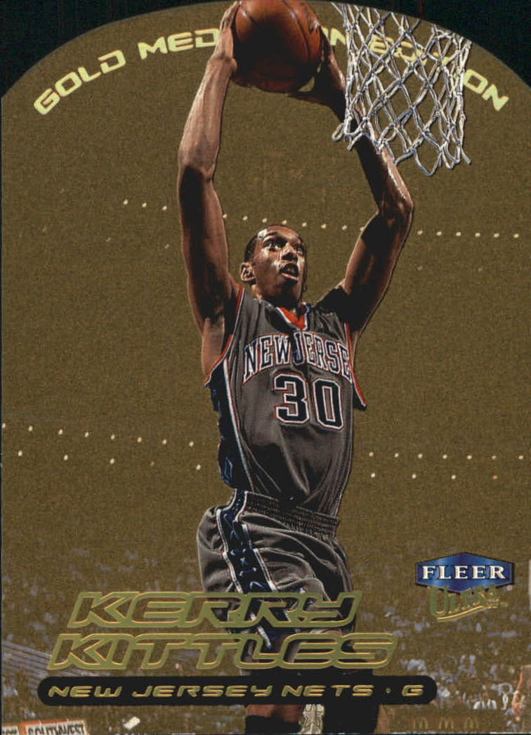 1999-00 Ultra Gold Medallion #9 Kerry Kittles