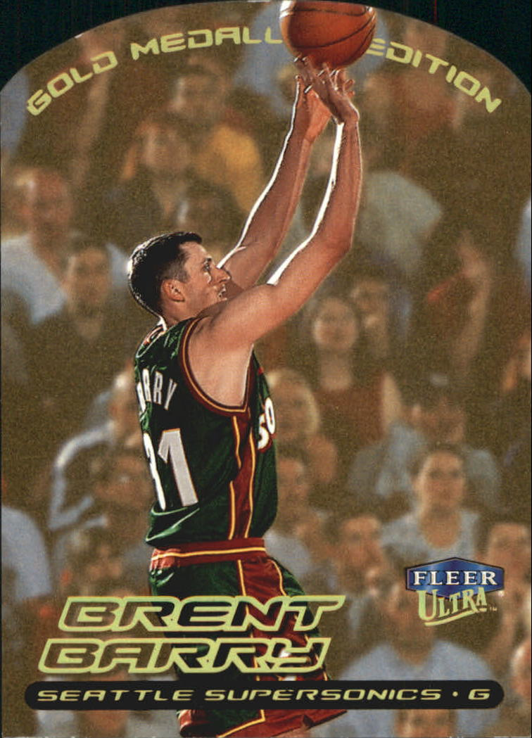 1999-00 Ultra Gold Medallion #13 Brent Barry