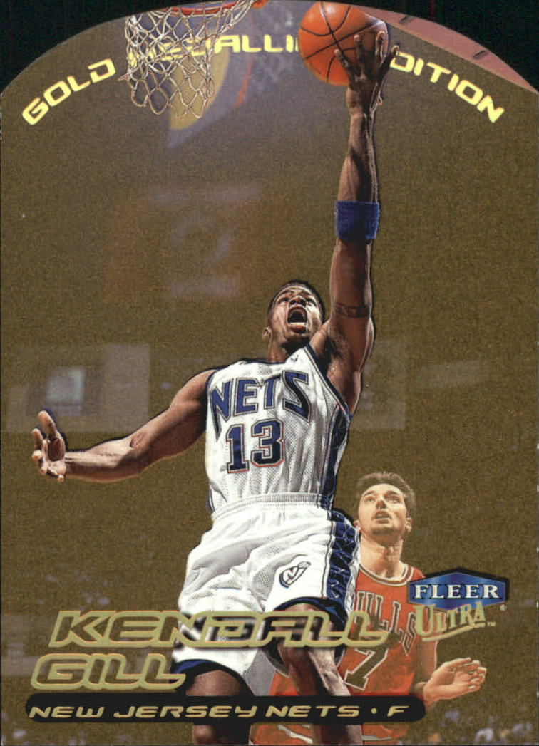1999-00 Ultra Gold Medallion #16 Kendall Gill