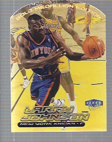 1999-00 Ultra Gold Medallion #17 Larry Johnson