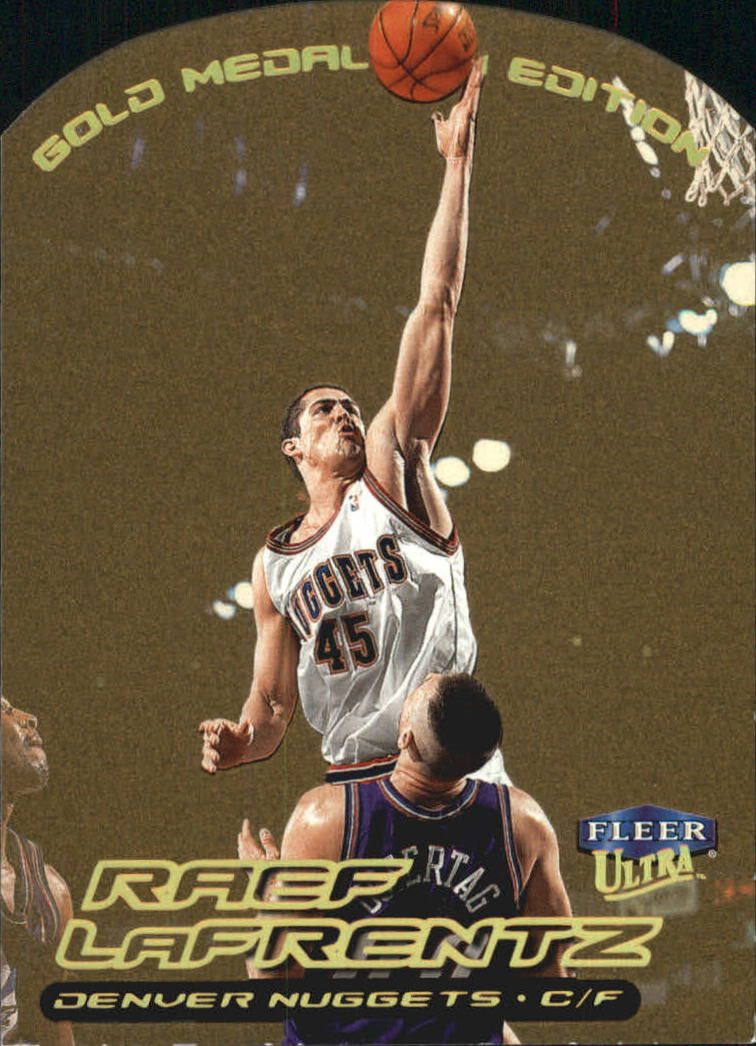 1999-00 Ultra Gold Medallion #19 Raef LaFrentz