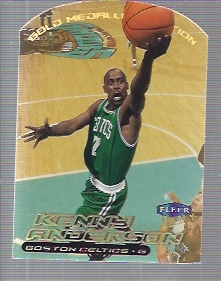 1999-00 Ultra Gold Medallion #21 Kenny Anderson