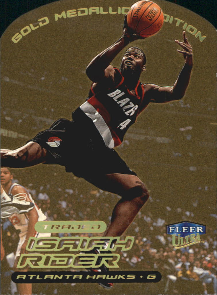 1999-00 Ultra Gold Medallion #23 Isaiah Rider