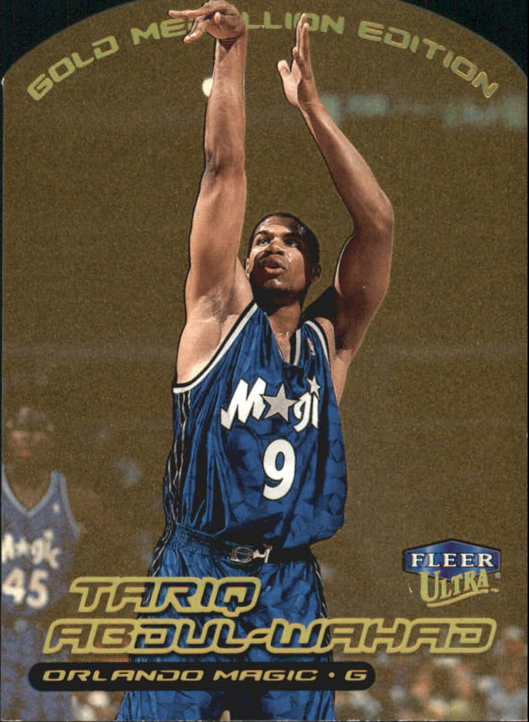 1999-00 Ultra Gold Medallion #24 Tariq Abdul-Wahad