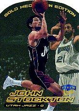 1999-00 Ultra Gold Medallion #32 John Stockton