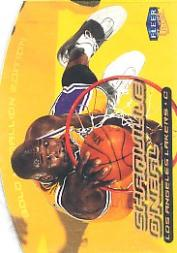 1999-00 Ultra Gold Medallion #40 Shaquille O'Neal