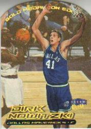 1999-00 Ultra Gold Medallion #53 Dirk Nowitzki