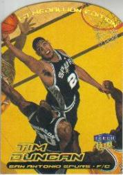 1999-00 Ultra Gold Medallion #80 Tim Duncan