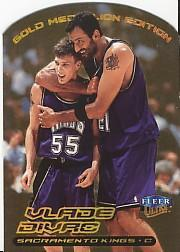 1999-00 Ultra Gold Medallion #96 Vlade Divac