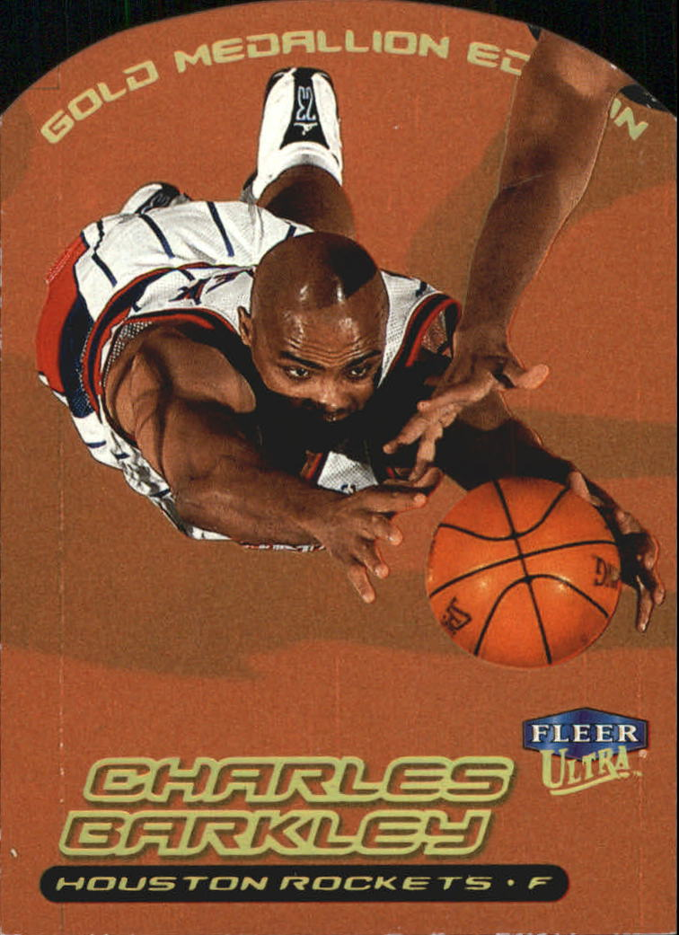 1999-00 Ultra Gold Medallion #114 Charles Barkley