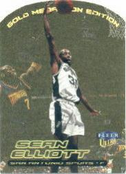 1999-00 Ultra Gold Medallion #121 Sean Elliott