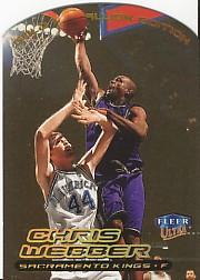 1999-00 Ultra Gold Medallion #124 Chris Webber