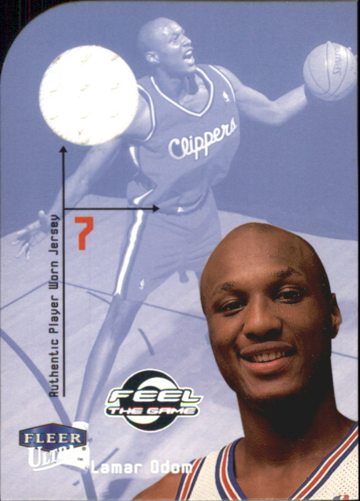 1999-00 Ultra Feel the Game #6 Lamar Odom